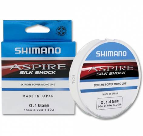 Леска Shimano Aspire Silk Shock 150м, 0.225mm