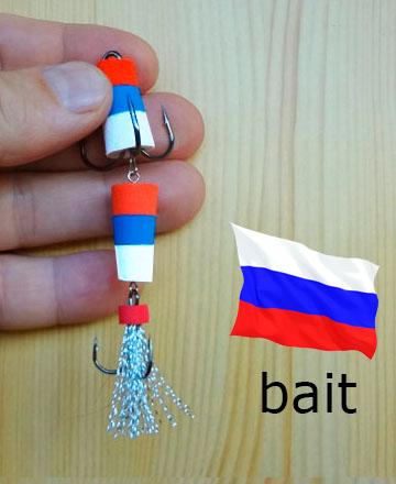 мандула расцветка российский флаг