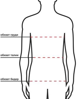 как выбрать размер одежды восток