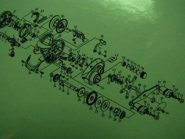 взрыв-схема мультипликаторной катушки